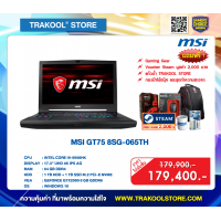 MSI GT75 8SG-065TH